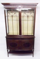 Edwardian Mahogany Display Cabinet €1950