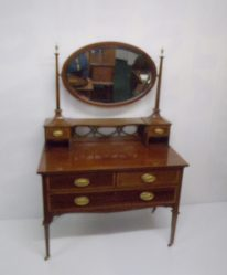 Edwardian Inlaid Mahogany Dressing Table €595