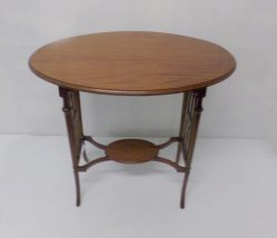 Edwardian Inlaid Mahogany Table €395