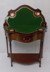 Edwardian Inlaid Mahogany Card Table €1450