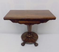 William IV Rosewood Card Table €1150