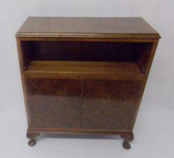 Burr Walnut Bookcase €450