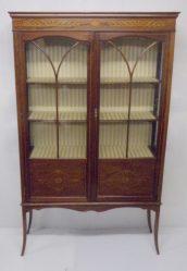 Edwardian Inlaid Mahogany Display Cabinet €795