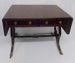 Edwardian Mahogany Sofa Table €125