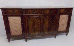 Mahogany Breakfront Cabinet €1950