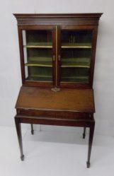 Georgian Mahogany Bureau Bookcase €795
