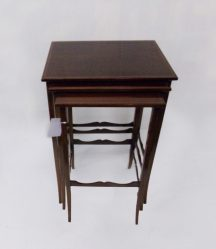Edwardian Inlaid Mahogany Nest Of Three Tables €695
