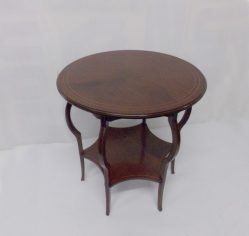 Edwardian Inlaid Mahogany Round Table €675