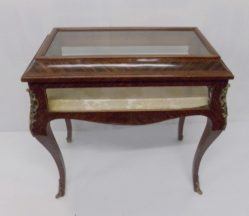 French Rosewood Curio Cabinet €750
