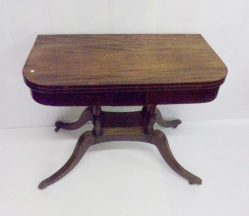 Regency Mahogany Card Table €1295