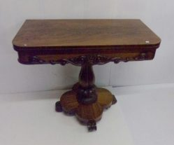 Victorian Mahogany Card Table €1450