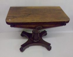 Victorian Rosewood Card Table €1295