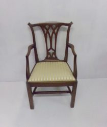 Chippendale mahogany Carver Chair €325