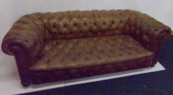 Late Edwardian Chesterfield Settee €2950