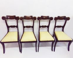 Set of Four William IV Mahogany Chairs €795