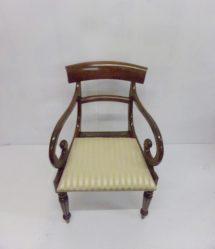 Regency Mahogany Carver Chair €495