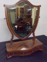 Edwardian Inlaid Crutch Mirror €595