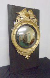 Victorian Gilt Convex Mirror €750