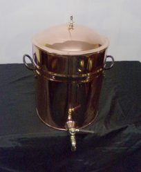 Copper Urn/Water Container With Lid & Brass Tap €245