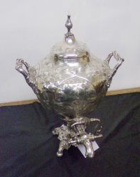 Silver Plated Samovar €345