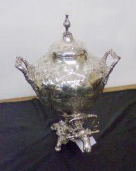 Silver Plated Samovar €345
