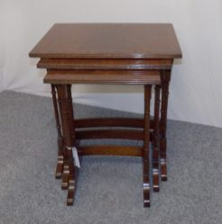 Mahogany Nest Of Three Tables €295