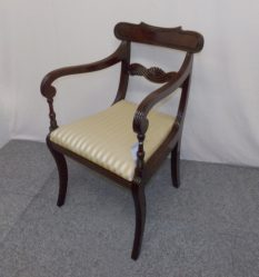 Regency Mahogany Carver Chair €595