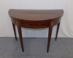 Georgian Inlaid Mahogany Card Table €995
