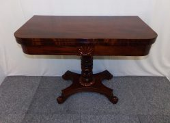 William IV Mahogany Card Table €1195