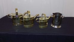 Selection Edwardian Brass Water Cans €195