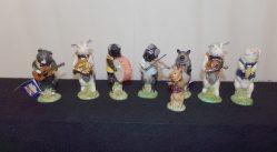 "Rare Nine Piece ""Beswick"" Pig Band €395"
