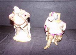 "Two ""Royal Doulton"" Figures €125"