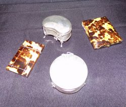 Selection Of Silver Boxes