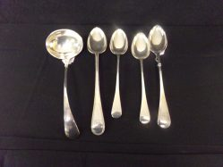 Victorian Silver Plated Serving Spoons €50 Each