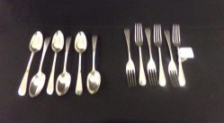 Six Silver Spoons, Six Silver Forks