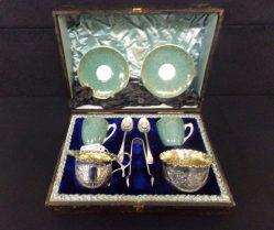 A Wonderful Silver Tea Set €495