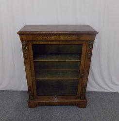 Victorian Burr Walnut Cabinet €895