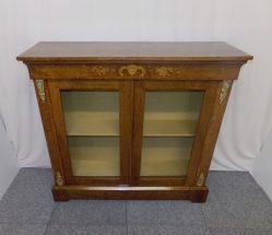 Victorian Burr Walnut Cabinet €1450