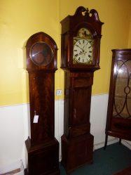 Georgian Mahogany Grandfather Clock P.O.A