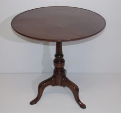 Late Georgian Mahogany Tripod Table €395
